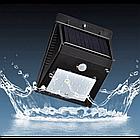 [ОПТ] Светильник с датчиком движения и солнечной панелью, фото 2