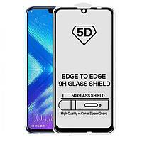 HUAWEI P Smart 2019 5D PREMIUM 9H Black защитное стекло
