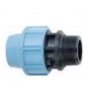 Муфта пнд редукционная 110х63 для полиэтиленовых труб (Santehplast)