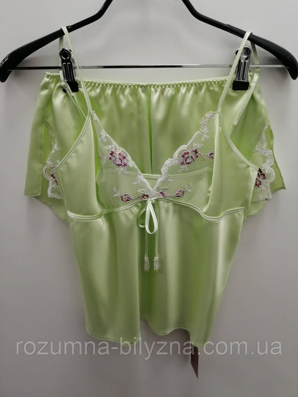 Піжама жіноча, майка/шорти, NADIJA, TM Komilfo, Україна XS. S. M