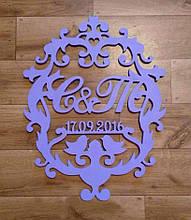 Весільна монограма, герб на весілля