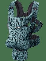 BabyBjorn - рюкзак-кенгуру MOVE SAGE GREEN - 3D MESH, серо-зеленый