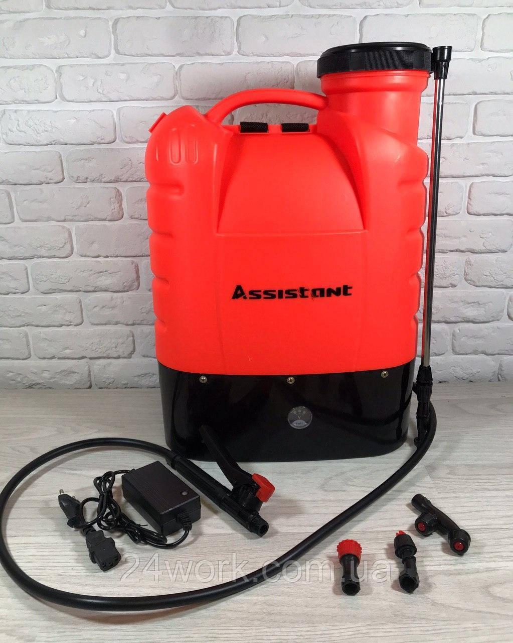 Опрыскиватель аккумуляторный садовый Assistant AS-16/3H