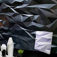 """3Д панели гипсовые 500х500 """"СТЕЛС"""" для внутренних работ на стенах и потолках"""