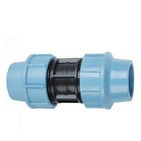 Муфта пнд соединительная 90х90 для полиэтиленовых труб (Santehplast), фото 2