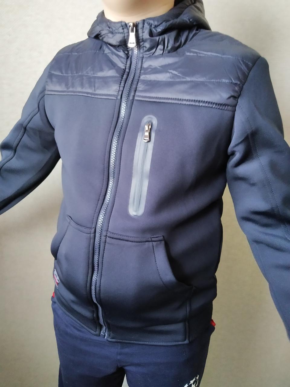 Легкая подростковая куртка унисекс, рост 140
