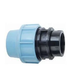 """Муфта с внутренней резьбой 20х3/4""""  для полиэтиленовых пнд труб (Santehplast)"""
