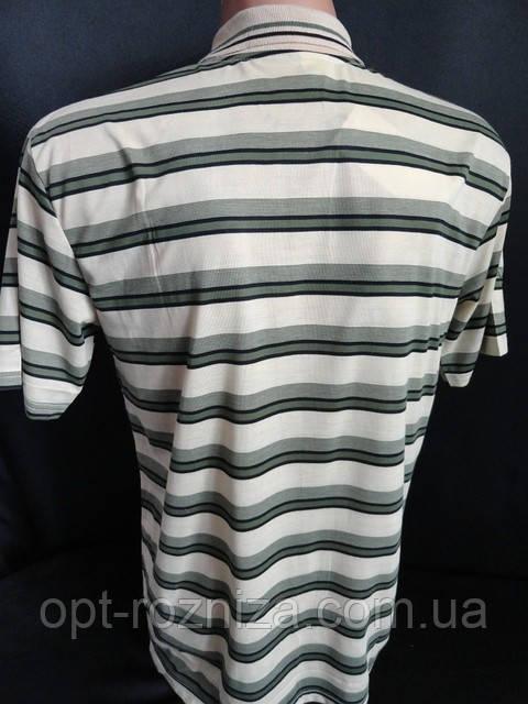 21cee97b0a871 Купить Мужскую футболку с воротником в полоску. оптом и в розницу в ...