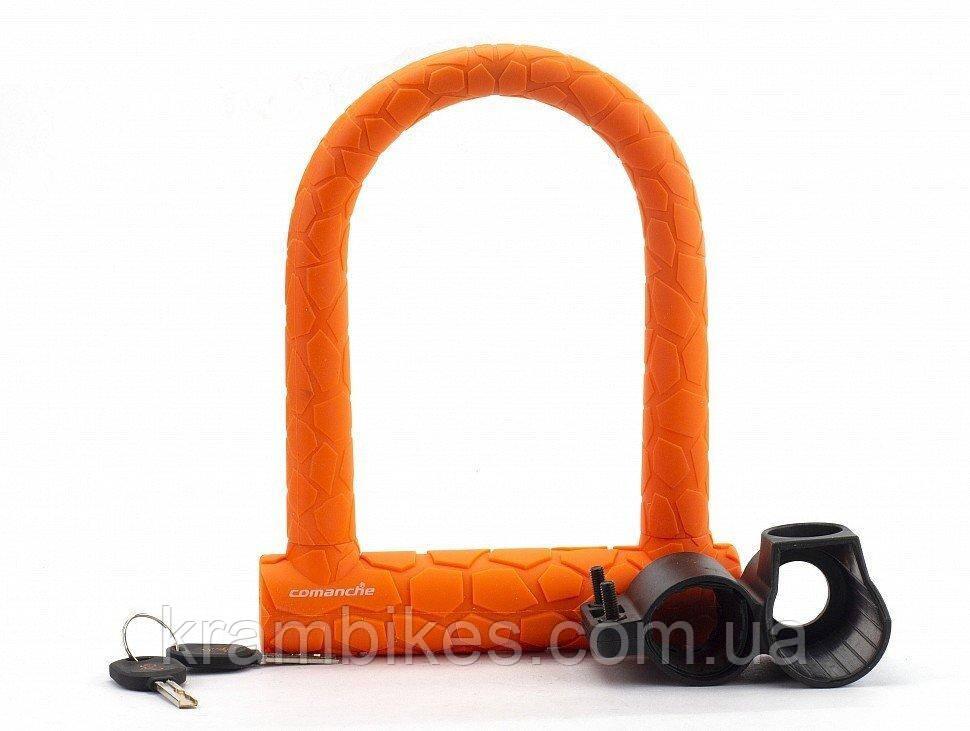 Замок Comanche - U-lock L оранжевый