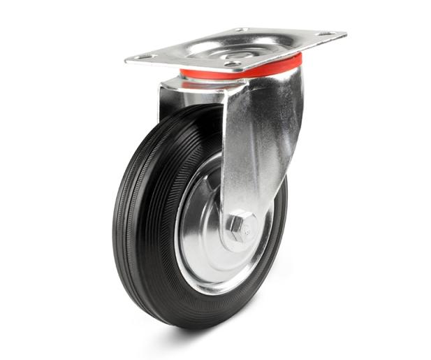 LIGHT Колеса из стандартной литой резины чёрного цвета