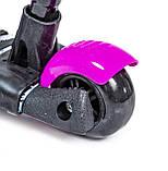 Самокат з ручкою Scooter Маки 5в1, фото 4