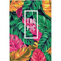 Блокнот-планшет, A5, 50 листов, клетка, Neon Tropics