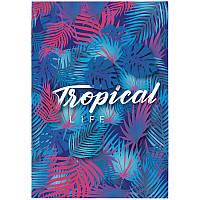 Блокнот-планшет, A5, 50 листов, нелинованный, Neon Tropics-2