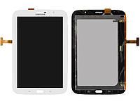 Дисплейный модуль (дисплей + сенсор) для Samsung Galaxy Note 8.0 N5100 / N5110, 3G, белый, оригинал