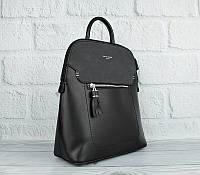 Рюкзак женский кожзам черный David Jones 5915-2, фото 1