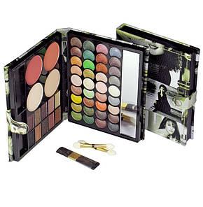 Тени для век maXmaR makeup set 50 Colors (46 оттенков теней + 2 румян +2 пудры), фото 2