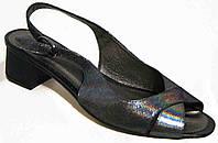 Босоножки женские большого размера на каблуке от производителя модель МИ4091-15