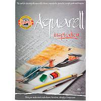 Альбом для акварели, 20 листов, A4, 320 г/м2 (эскиз)