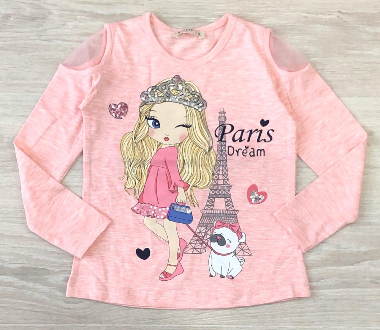 "Реглан на девочку Breeze ""Paris"""