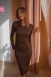 Платье женское замш 42-44 44-46, фото 2