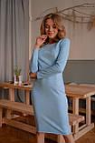 Платье женское замш 42-44 44-46, фото 3