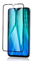 Защитное стекло Full Glue 3D Black Xiaomi Redmi 8 черное (Ксиоми Редми 8)