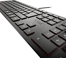 Ультратонкая клавиатура Cherry KC 6000 Slim Black USB