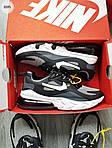 Чоловічі кросівки Nike Air Max 270 React (чорно-сірі) 329PL, фото 6