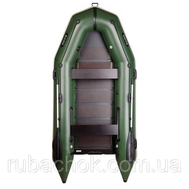 Четырехместная моторная надувная лодка Bark (Барк) BT 330D
