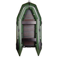 Четырехместная моторная надувная лодка Bark (Барк) BT 330D, фото 1