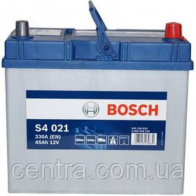 Автомобильный аккумулятор Bosch 6CT-45 S4 (S4 021)