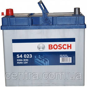 Автомобильный аккумулятор Bosch 6CT-45 S4 (S4 023)