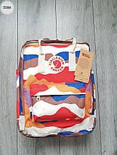 Рюкзак шведской марки  Kanken Fjallraven (разноцветный) 333KN