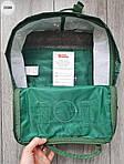 Рюкзак шведской марки  Kanken Fjallraven (зеленый) 335KN, фото 3