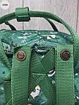 Рюкзак шведской марки  Kanken Fjallraven (зеленый) 335KN, фото 6