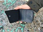 Мужской кошелек (черный) 1235, фото 3