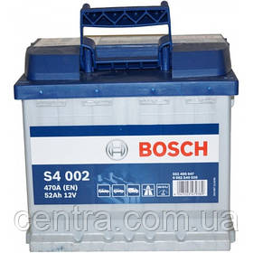 Автомобильный аккумулятор Bosch 6CT-52 S4 (S4 002)