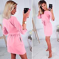 Женское свободное нарядное платье (Код MF-203)