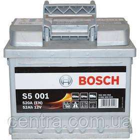 Автомобильный аккумулятор Bosch 6CT-52 S5 (S5 001)