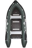 Трехместная моторная надувная лодка Bark (Барк) ВN 310S (с жестким дном и надувным кильсоном)