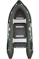 Четырехместная моторная надувная лодка Bark (Барк) ВN 330S (с жестким дном и надувным кильсоном)