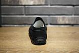 Мокасины мужские замшевые чёрные, фото 4