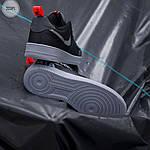 Мужские кроссовки Nike Air Force '07 LV8 black/grey - 323PL, фото 3