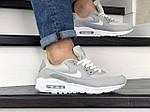 Мужские кроссовки Nike Air Max 90 (серые) 9055, фото 4