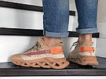 Чоловічі кросівки Of White (персикові) 9066, фото 2