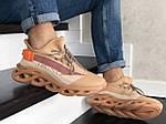 Мужские кроссовки Of-White (персиковые) 9066, фото 6