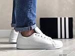 Мужские кроссовки Adidas Stan Smith (белые) 9073, фото 3