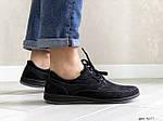 Чоловічі туфлі Doge style (чорні) 9077, фото 2