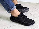 Мужские туфли Doge style (черные) 9077, фото 4