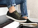 Чоловічі кросівки Wrangler (темно-зелені) 9086, фото 3